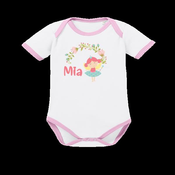 Baby Body mit Namen Kleine Fee (Mädchen)