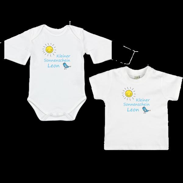 Druckqualität Personalisierbarer Baby-Body Baby Shirt mit Namen