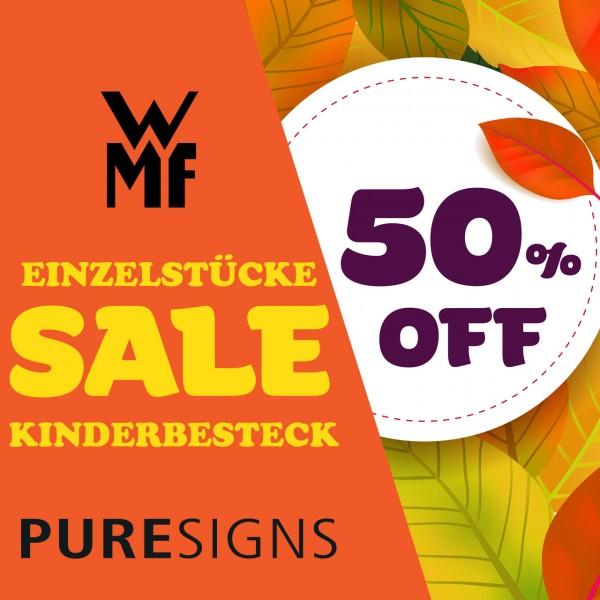 Kinderbesteck mit Namen graviert von WMF / Puresigns - Einzelstücke SALE