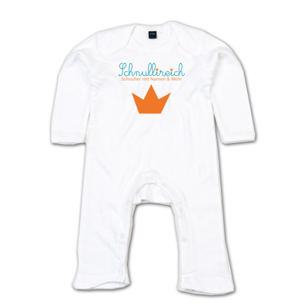 Baby Strampler mit Logo bedrucken (2 C)