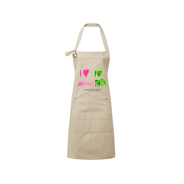 Erwachsenen Kochschürze mit Kinderbild bedruckt - Mein Bild für Dich by Schnullireich