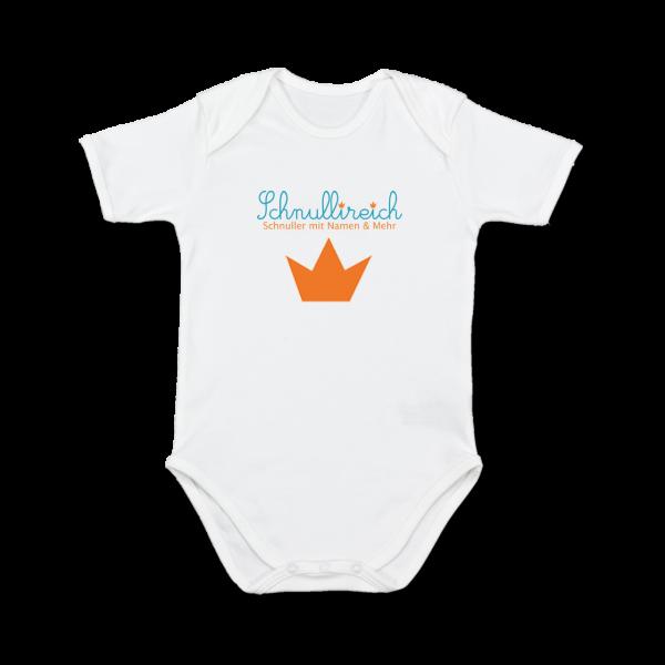 Baby Body mit Logo bedrucken (Kurzarm)