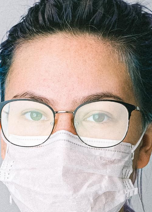 Brille Beschlägt Mit Mundschutz