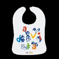 Baby Lätzchen mit Logo Digitaldruck bedrucken