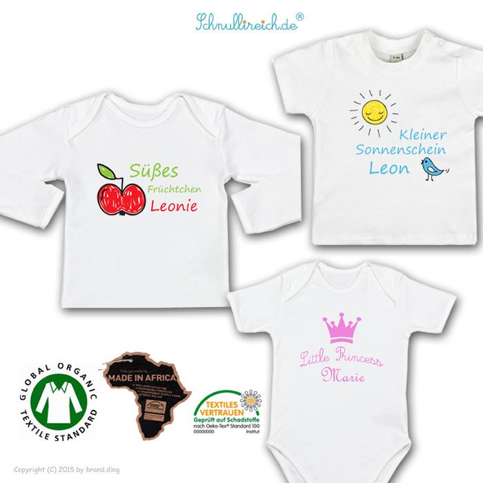 Babykleidung mit Namen