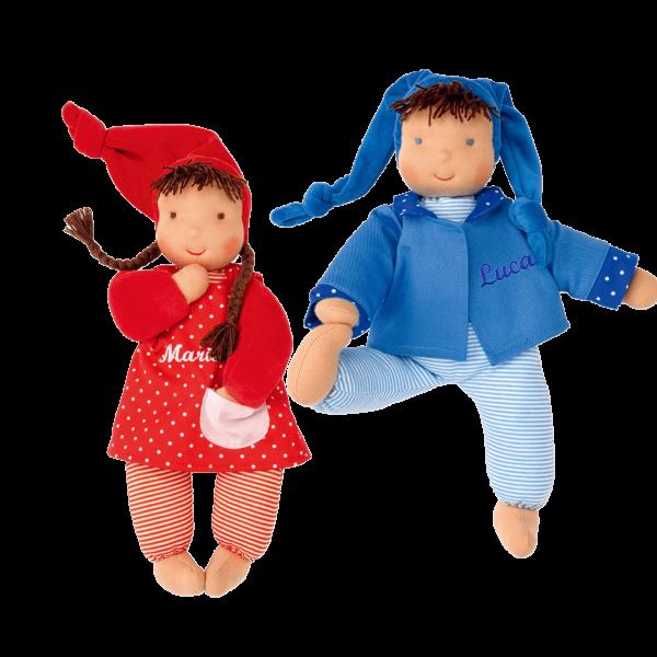 Personalisierbare Käthe Kruse Puppe Schatzi mit Namen